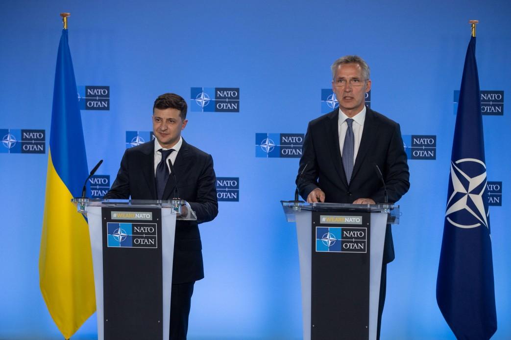 Курс на повноправне членство у ЄС і НАТО залишається незмінним зовнішньополітичним пріоритетом України – Володимир Зеленський