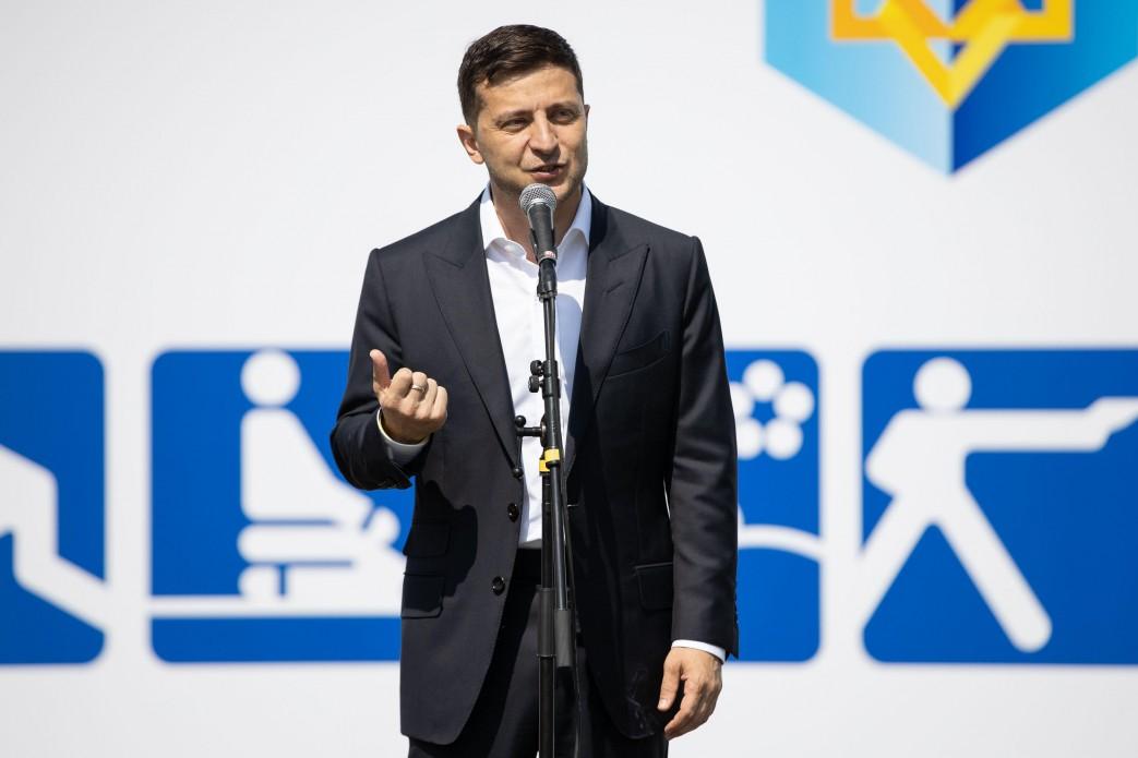 Володимир Зеленський: Ми хочемо змінити ставлення держави до спорту та спортсменів