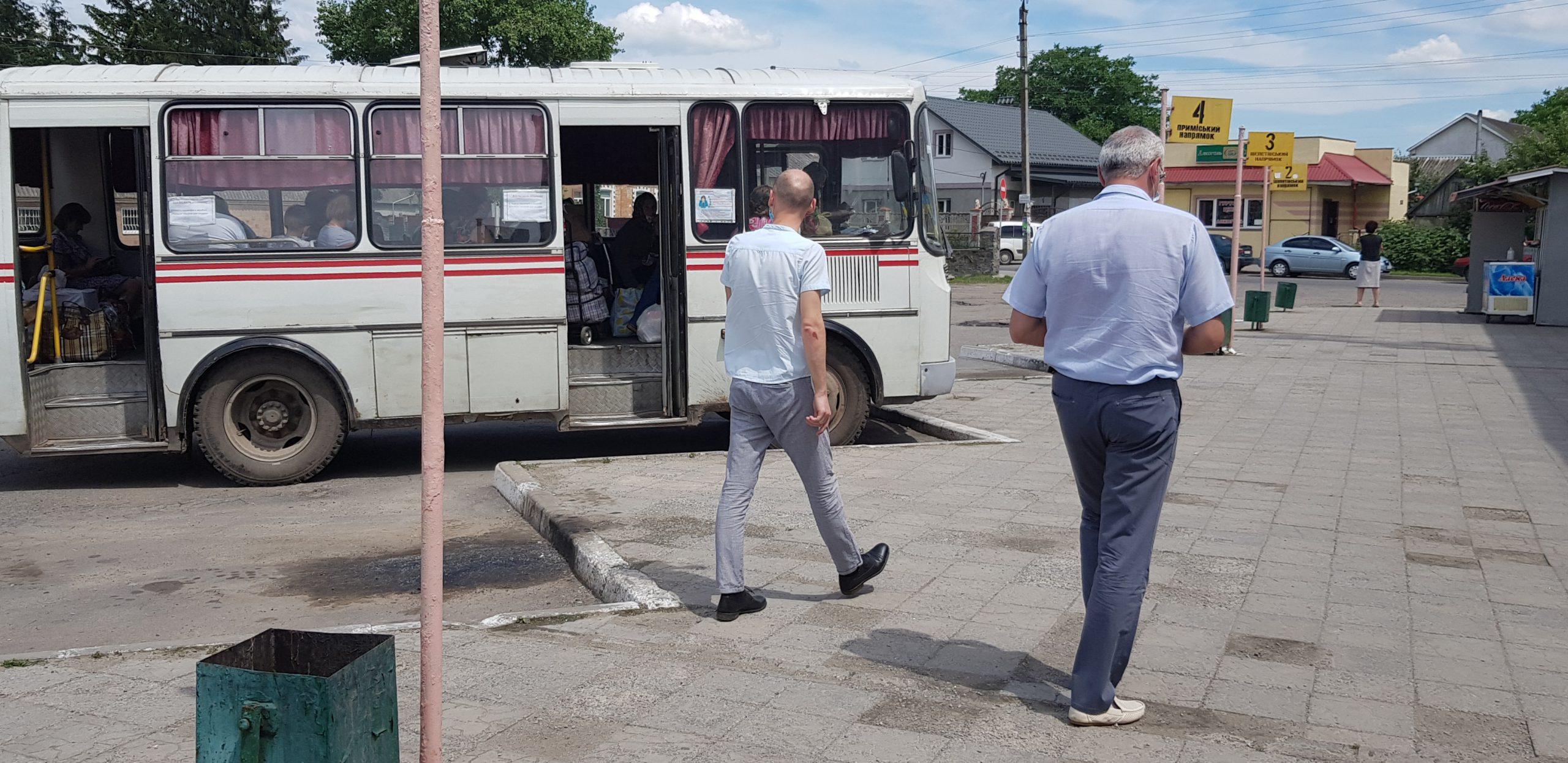В області тривають перевірки дотримання правил карантину при здійсненні транспортних перевезень