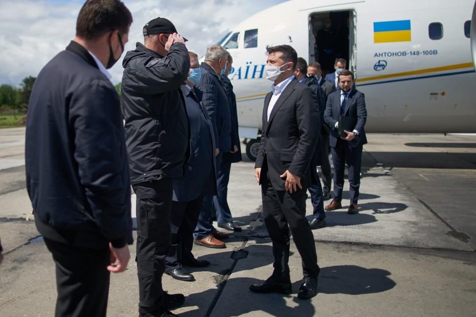 Володимир Зеленський прибув з дводенною робочою поїздкою до Хмельницької області