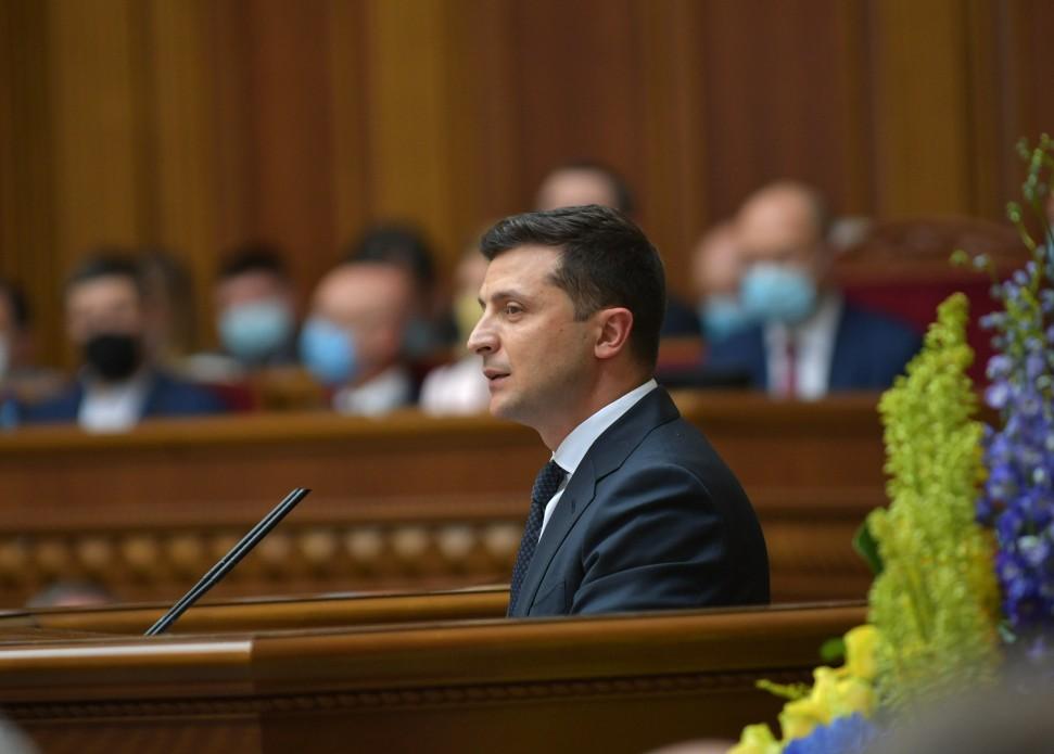 Виступ Президента України на урочистому засіданні Верховної Ради з нагоди 30-річчя ухвалення Декларації про державний суверенітет