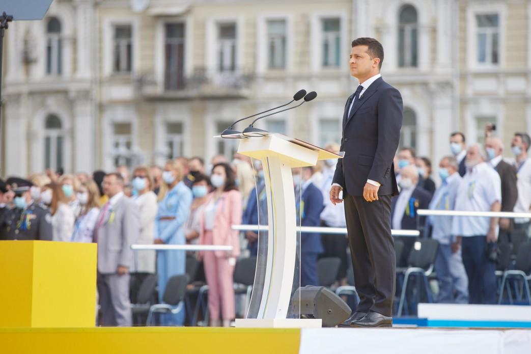 Промова Президента з нагоди Дня Незалежності України