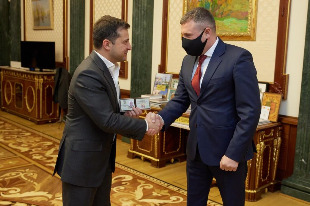 Володимир Зеленський призначив Сергія Гамалія головою Хмельницької облдержадміністрації